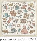 珠寶 時髦的 收藏 16372511