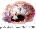 杯子 馬克杯 牛奶 16382781