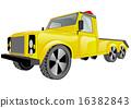 tow truck car 16382843