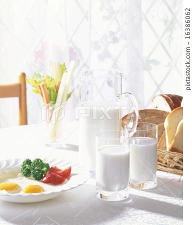 西式早餐 16386062