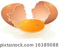 食物 原料 蛋黃 16389088