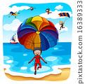 Parachuting 16389333