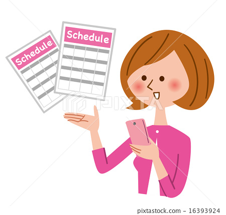 schedule, smart phone, smart-phone 16393924