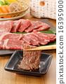 牛肉 肉的 肉 16395900