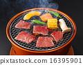 牛肉 韓國燒烤 日本菜烤肉 16395901