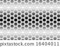 정육각형 벌집 구조, 그물, 망사 형, 그물망, 뜨게질 모양 울타리 와이어 그물, 철망, 금속 망사, 16404011