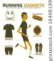 running gadgets earth tone vintage 16406199