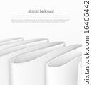 ribbon, background, white 16406442