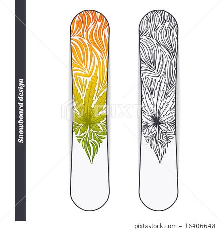 Snowboard Design Three 16406648