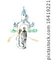 新郎新娘 教會 教堂 16419221