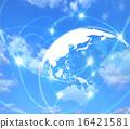 全球 地球儀 土地 16421581