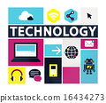 Technology Social Media Networking Online Digital Concept 16434273
