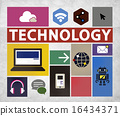 Technology Social Media Networking Online Digital Concept 16434371