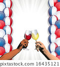 Bastille Day (Balloons and wine) 16435121