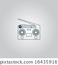 Classic 80s boombox  16435916