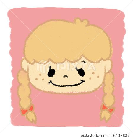 Crayon Girl 16438887