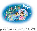 七夕節 七夕裝飾 牽牛星 16440292