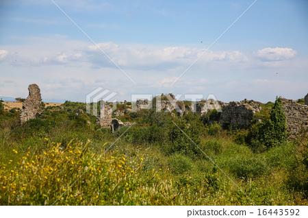 Side ruins in Turkey 16443592