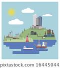 gasoline, ship, landscape 16445044