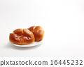 빵, 2개, 두 개 16445232