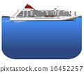 客船 水上旅館 框架 16452257