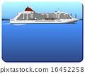 水上旅館 客船 框架 16452258