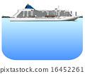 客船 水上旅館 框架 16452261