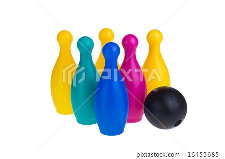 Colorful plastic skittles 16453685