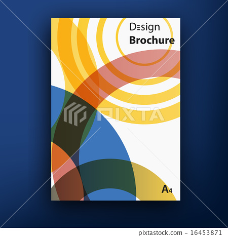 Vector Brochure Booklet Cover Design Templates Collection Stock - Brochure booklet templates