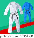 two kimono for judo 16454989
