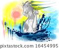 white horse 16454995