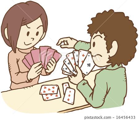 两个人从扑克牌中退出 16456433