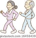 senior, elderly, couple 16456439