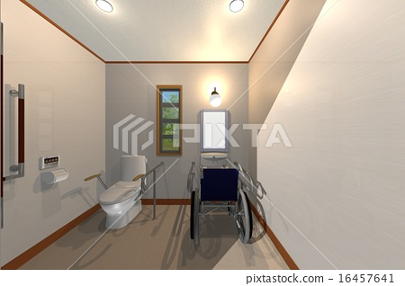 Barrier-free toilet 16457641