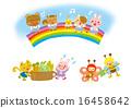 动物插图素材集 16458642