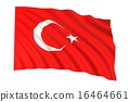 Flag of Turkey 16464661