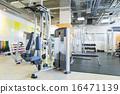 gym, gymnasium, fitness machine 16471139