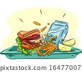 School Lunch Tray 16477007