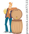 Man Beer Barrel 16477133