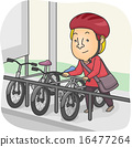 Man Bike Parking 16477264
