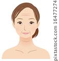 50歲的女性歲月美女 16477274