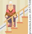 Senior Woman Chair Elevator 16477508