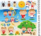 暑假 材料 素材 16490606