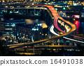 Portland Freeway at Night 16491038
