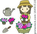 kanae, gardening, female 16491510
