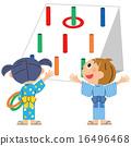 เด็ก ๆ กำลังเล่นโยนแหวน 16496468
