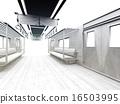 白色的通勤列車 16503995