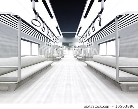 白色的通勤列車 16503996