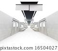 白色的通勤列車 16504027
