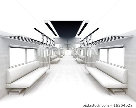 白色的通勤列車 16504028